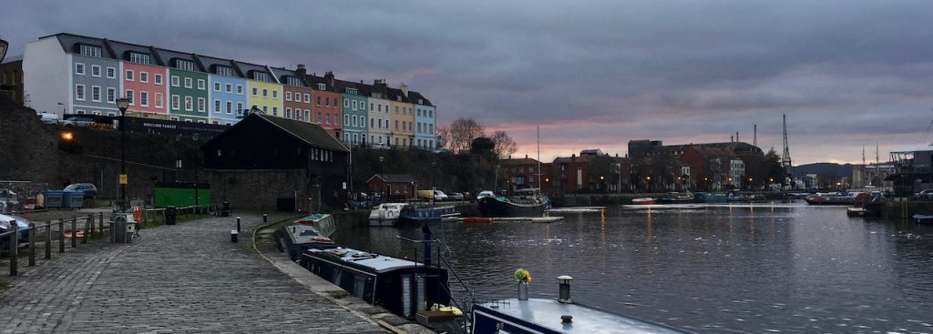 Bristol, a case study city for our work on COVID-19 city social distancing strategy.